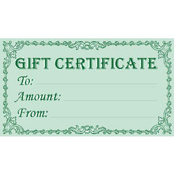 Art and Artifact Gift Certificate