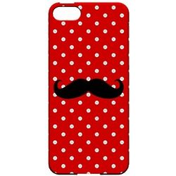 Stache Polka Dot Cell Phone Cover
