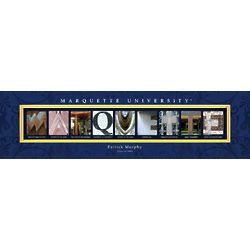 Personalized Marquette University Architecture Print