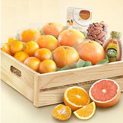 Organic Citrus Feel Great Fruit Basket