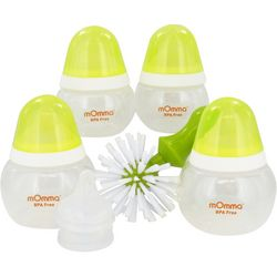 Baby Bottle Kit with Nipples