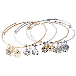 Expandable Symbolic Bangle Bracelet