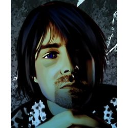 Kurt Cobain Pop Art Print