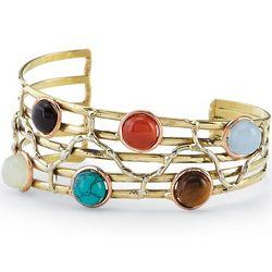 Gabriela Multistone Cuff Bracelet