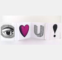 Eye Love U cardZEES Greeting Card