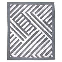 Zara Sticks Sateen Crib Quilt