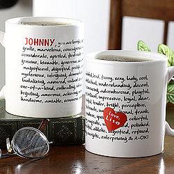 75 Reasons To Love You Custom Coffee Mug