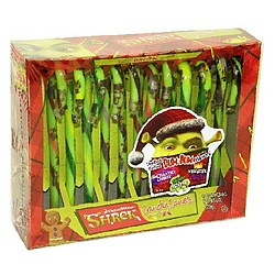 Shrek Candy Canes