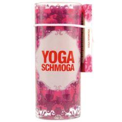 Yoga Schmoga Juice Glass Candle