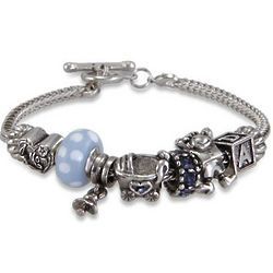 It's a Baby Boy Theme Oriana Bracelet