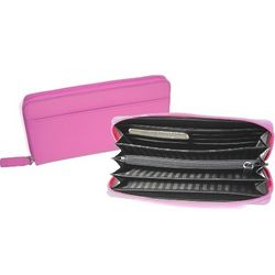 Women's RFID Blocking Fan Wallet