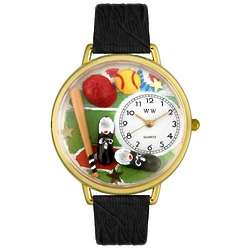 Softball Player Watch with Miniatures