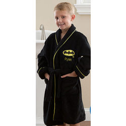 Kid's Personalized Batman Robe