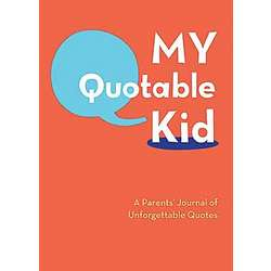 My Quotable Kid Hardcover Journal
