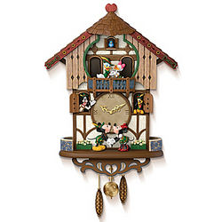 Disney Sweetheart Chalet Cuckoo Clock