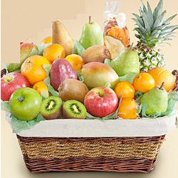 Ultimate Organic Fruit Gift Basket