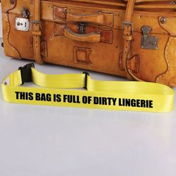 Dirty Lingerie Bag Tag