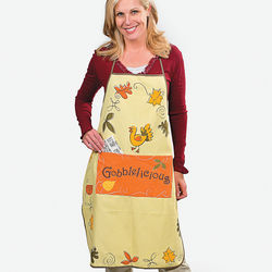 Gobblelicious Thanksgiving Apron
