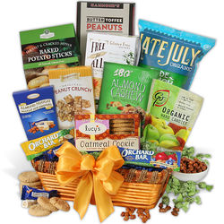Gluten Free Christmas Gift Basket