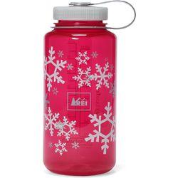 Snowflake Wide-Mouth Loop Top Water Bottle