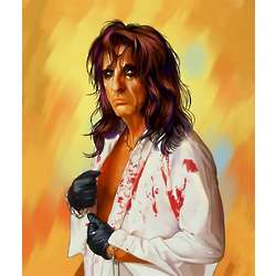 Alice Cooper Pop Art Limited Edition Print