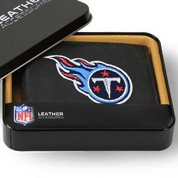 Tennessee Titans Leather Bi-Fold Wallet