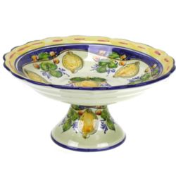 Portuguese Pedestal Fruit Bowl