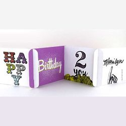 Happy Birthday 2 You cardZEES greeting card