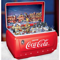 Coca Cola 174 Hometown Holiday Animated Music Box Findgift Com
