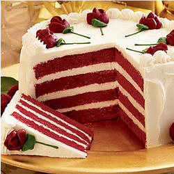 Cake Red Velvet Birthday Kustura for