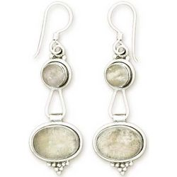 Goddesses Moonstone Earrings