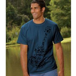 Men's Guitar Graphic T-Shirt