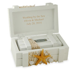 His & Hers Sandy Beach Treasure Boxes