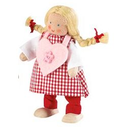 Valentine Dollhouse Doll