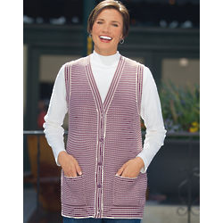 Women's Birdseye Sweater Vest