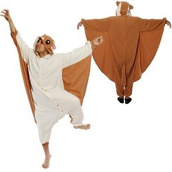 Flying Squirrel Kigurumi Costume