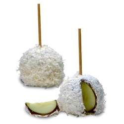 Coconut Caramel Apple