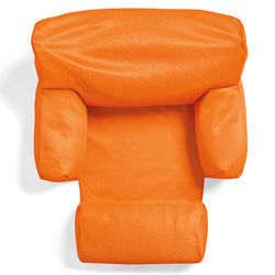 Floating Orange Ergo Comfort Lounger for Pool