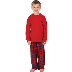 Plaid Pajamas for Boys