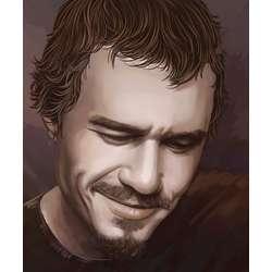 Heath Ledger Pop Art Print