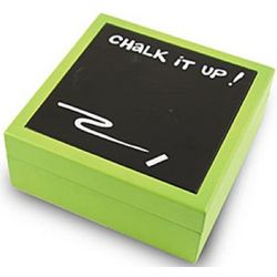 Chalk It Up Covered Message Box