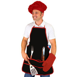 Apron and BBQ Tools Tote