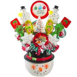 Frosty The Lollipop Bouquet