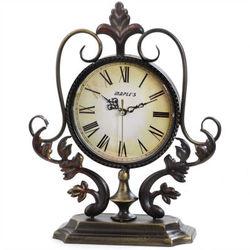 Metal Decor Tabletop Clock