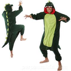 Adult Dinosaur Kigurumi Costume