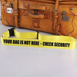 Check Security Bag Tag