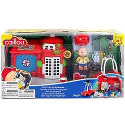 Fireman Caillou Playset