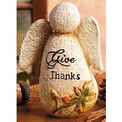 Give Thanks Angel Figurine