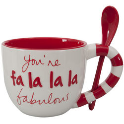 Falala White Latte Mug
