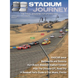Stadium Journey Magazine 6-Issue Monthly Subscription